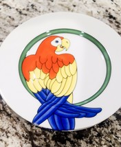 Fitz & Floyd Parrot In The Ring 1979 Salad/Dessert Plate (Price Is For 1 Plate) - $20.00