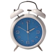 George Jimmy Cute Student Alarm Clock Stylish Silent Bedside Alarm Clock #25 - $42.35