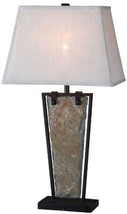 Kenroy Home 32227SL Free Fall Table Lamp, Natural Slate - $157.84