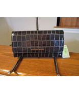 Authentic Michael Kors Large Jet Set Trifold Wallet Leather Black New W/tag - $79.19