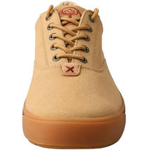Twisted X Men's Hooey Lopers Beige Canvas Sneaklers Casual Shoes Mhyc003 10 1/2 image 4