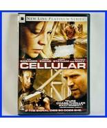 Used Cellular (DVD, 2004, Widescreen) Chris Evans Kim Basinger Jason Sta... - $1.94