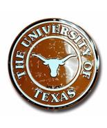"University of Texas Longhorns Embossed Metal 12"" Circle Sign - $10.95"