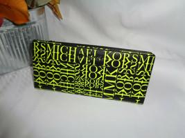MICHAEL KORS MONEY PIECES LARGE CARD CASE CARRYALL CLUTCH WALLET BLACK N... - $59.29