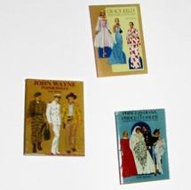 DOLLHOUSE Celebrity Paper Dolls Books Set/3 Jacqueline's Miniature - $6.18