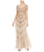 Adrianna Papell Women's Dress Beaded Mermaid Gown - $199.99
