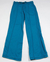 LIMITED TOO GIRLS SIZE 10 JADE BLUE PANTS LOUNGE 100% COTTON - $10.93
