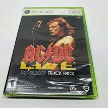 AC/DC Live: Rock Band Track Pack (Microsoft Xbox 360, 2008) NEW - $11.85