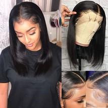 13x4 Deep Part Human hair Bob Wig 150% Density Short Cut Lace Front Wig Remy Hai