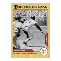 Willie Mays MLB TOPPS NOW Turn Back The Clock  Card 110 7/18/1970 3,000t... - $24.69