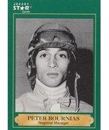 Peter Bournias trading card (Horse Racing) 1991 Jockey Star #26 - $4.00