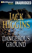 On Dangerous Ground (Sean Dillon Series) Higgins, Jack and Page, Michael - $19.92