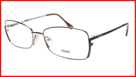 FENDI Eyeglasses Frame F959 (770) Metal Light Bronze Italy Made 54-16-13... - $177.57