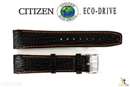 Citizen Eco-Drive BL5268-07E 21mm Nero,in pelle Cinturino Orologio S036771 - $54.78