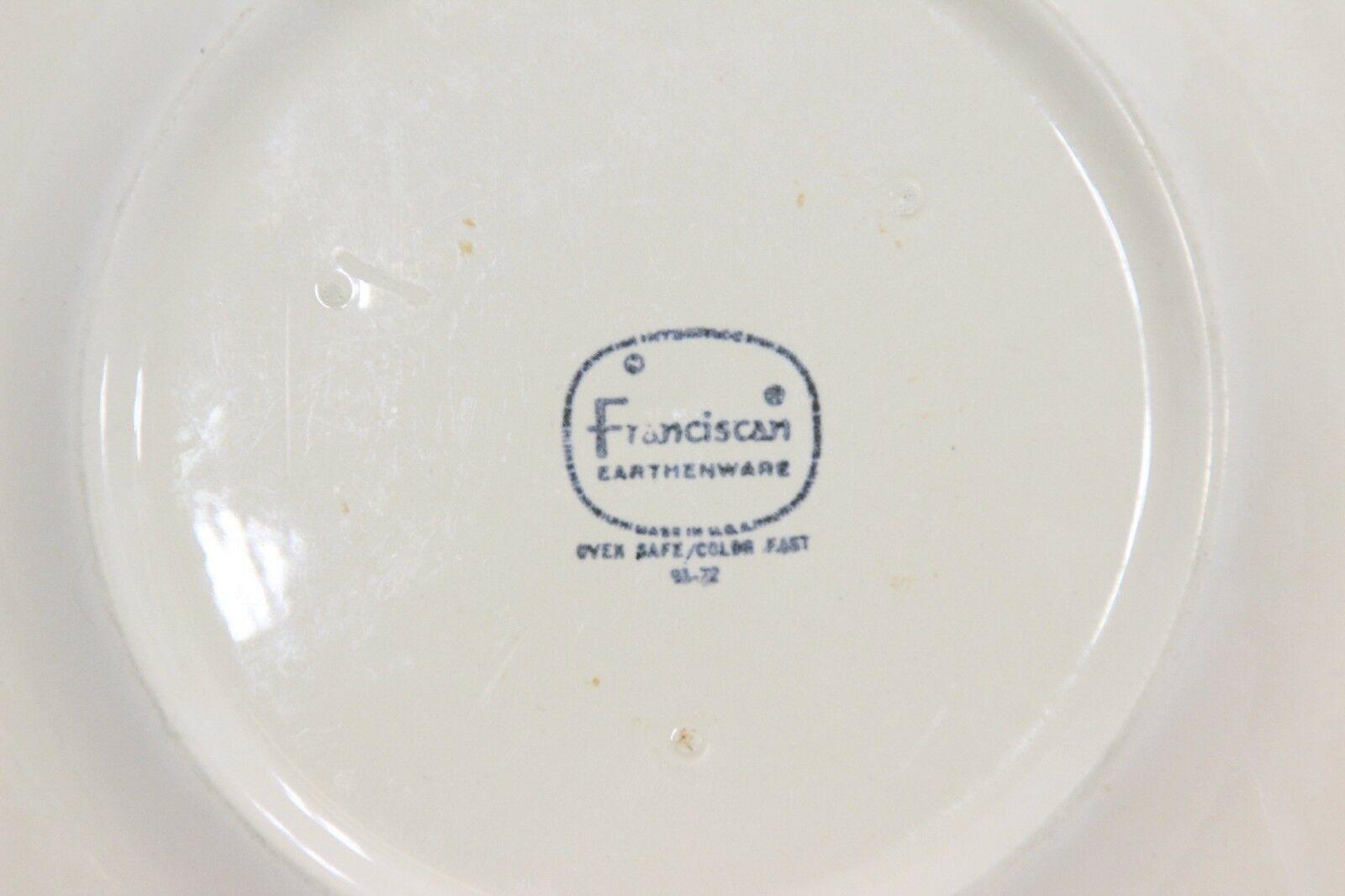 "Franciscan Sundance Salad Plates 8.5""  Set of 4"
