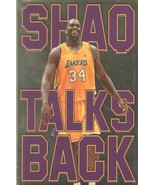 """Shaquille O'Neal Signed Book """"Shaq, Talks Back"""" - $44.99"""