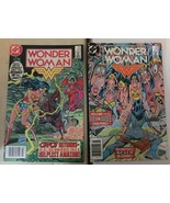 Wonder Woman #313 315 1984 VF Condition DC Comic Book Lot Of 2 Diana Prince - $8.18