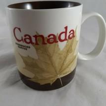 Starbucks Canada Maple Leaf 2009 Collector Series Coffee Mug 16oz Brown ... - $36.62