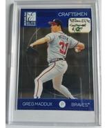 1998 Donruss Elite Craftsmen #5 Greg Maddux : Atlanta Braves - $3.56