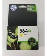 NEW GENUINE - HP 564XL YELLOW INK CARTRIDGE - CB325WN - SEALED Exp. 04/2019 - $13.54