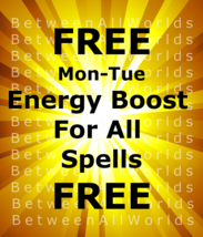 Free Freebie Mon-Tues 10,000x Boost The Power Of All Ur Spells BetweenAl... - $0.00