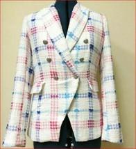 new MAISON D'AMELIE women jacket blazer V2029WL white sz XS $189 - $49.49