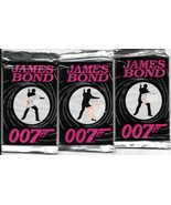 James Bond 1st Series 3 SEALED NEW UNOPENED Trading Card Packs 1993 Eclipse - $28.95