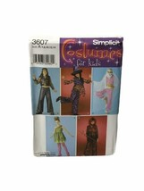 Simplicity 3607 Costume sewing pattern Hippie Harem Girl devil witch Siz... - $9.89