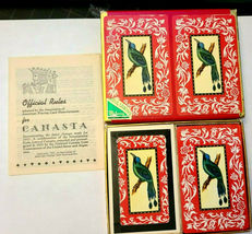 PLAY Canasta Double Deck Playing Cards Arrco Playing Card Co. Chicago image 4