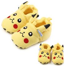 Pikachu Baby Crib Shoe Toddler Soft Sole Prewalker Slipper Winter Warm A... - $6.10