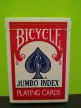 Bicycle JUMBO Index Playing Cards Red  - $4.94