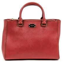 Red ONE SIZE Michael Kors Ladies Kellen Medium Leather Tote Handbag - $475.70
