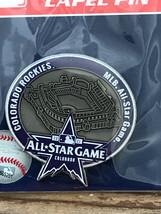Colorado Rockies 2021 All-Star Game Mlb Asg Baseball Logo Pin Le 116/500 - $25.95