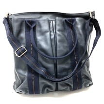 05d9756f78c AUTHENTIC HERMES Troca Vertical MM Tote Bag Shoulder Bag Navy Blue -  £498.50 GBP