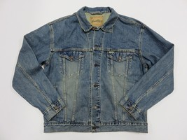 LEVI STRAUSS & CO. Signature Denim Button Up Jacket Adult Size Large 100... - $49.45