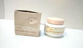 Vintage Avon Nurtura Replenishing Face Cream Milk Glass Jar 2 oz. New Ol... - $21.67