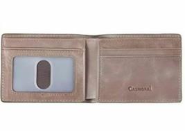 Men's Slim Wallet with Front Pocket, RFID Blocking, Light Grey image 2