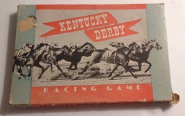 RARE 1938 Kentucky Derby Racing Game (Rex Manufacturing Co.) - $85.00