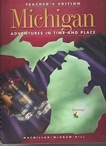 Michigan - Adventures in Time and Place [Hardcover] Joellen McNergney Vinyard