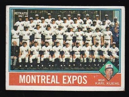 Montreal Expos Team Card 1976 Topps #216 - $2.02