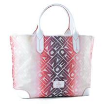 FENDI Multicolor Vinyl Tote Bag White Auth 8402 - $580.00