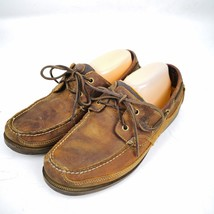 MENS Timberland Classic 2 Eye Boat Shoes Casual Slip On Leather Loafers ... - $29.99