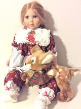 Lloyd Middleton Porcelain Christmas Carol Doll Holiday Edition Collector... - $121.25