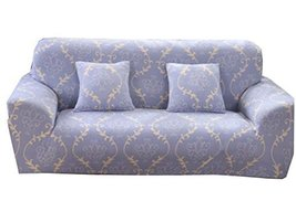 George Jimmy Couch Sofa Covers Double Sofa Blue Grid Couches Decoration - $56.14