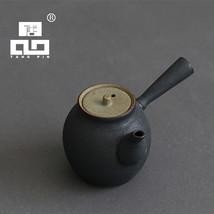 TANGPIN black crockery ceramic tea pot kung fu tea set - $40.95