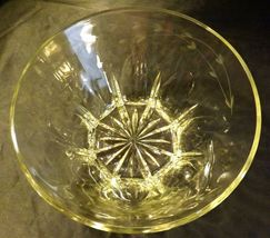 Etched Glass Berry Salad Bowl AA19-LD11939 Vintage image 8