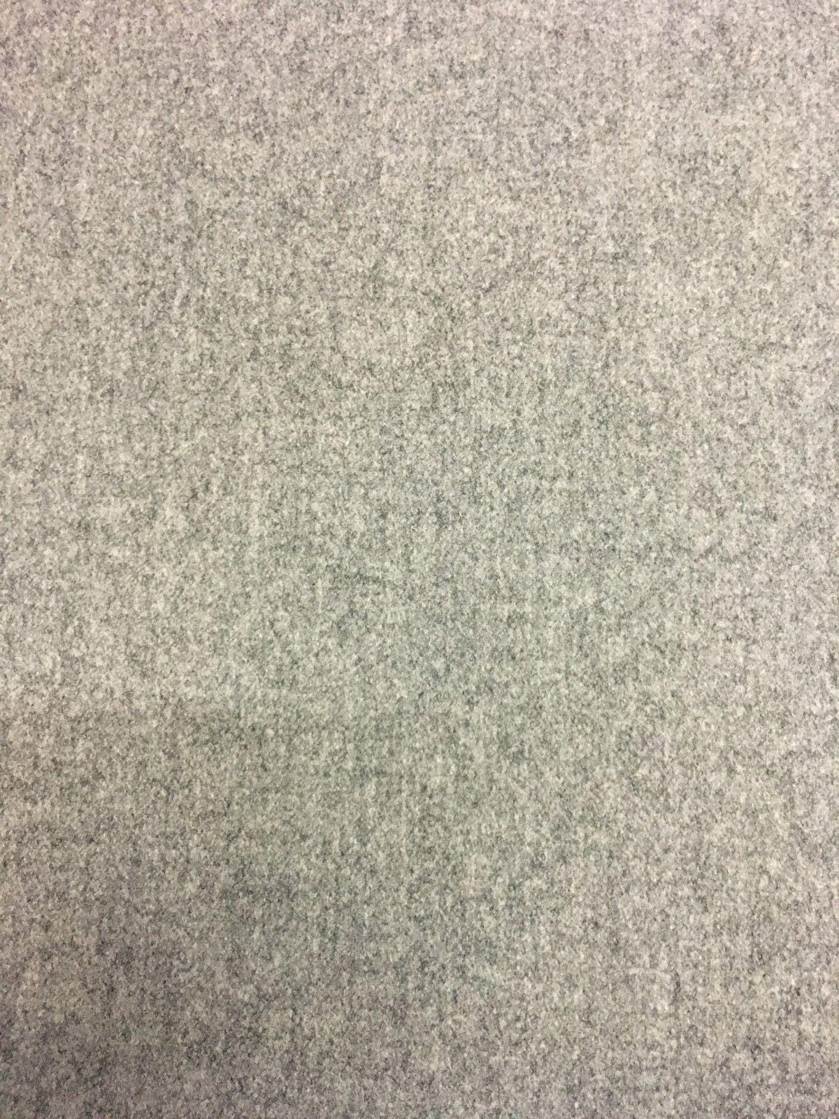 Jahrhundertmitte Moderne Wolle Polsterstoff Mittelgrau Meliert 4.3m Gq