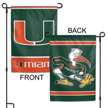 "University of Miami Hurricanes 12"" x 18"" Premium Decorative Garden Flag - $14.95"
