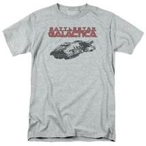 Battlestar Galactica t-shirt Retro 70's 80's Sci-fi TV series graphic tee BSG245 image 1