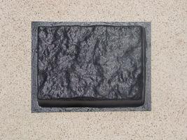 GE-7000 Garden Edging Lawn Landscape Molds (4) Make Stacked Concrete Walls Too image 8